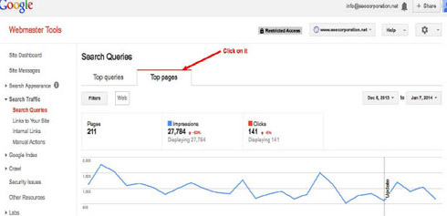 Google Webmaster Tool Updated