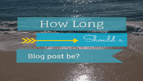 Whats the right length for a blog post