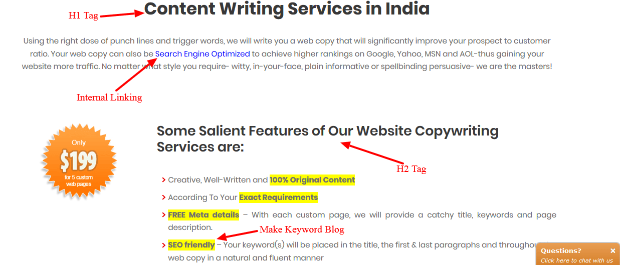 Write to get featured on the SEO Corporation Blog