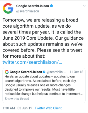 Google Search Liaison