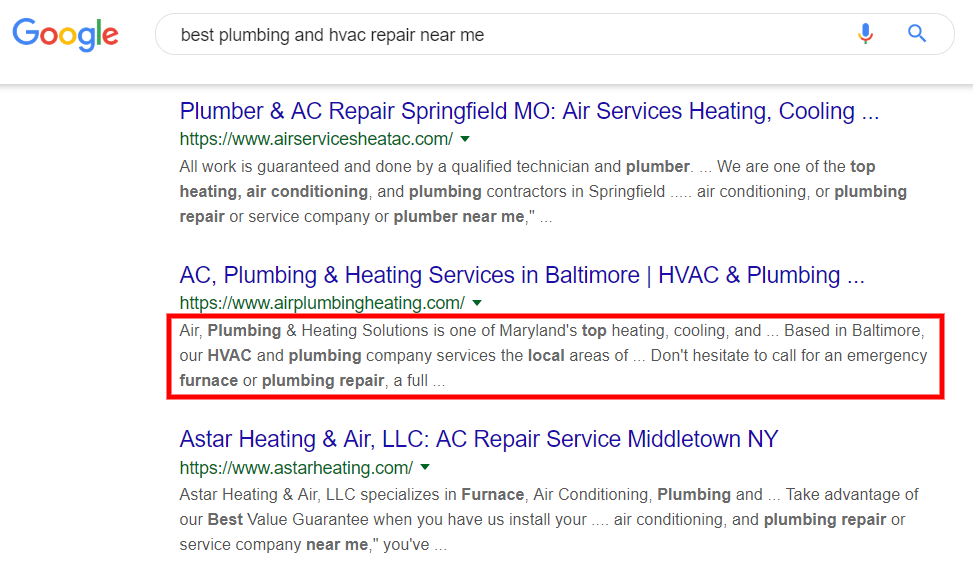 Best Plumbing and Hvac repair near me