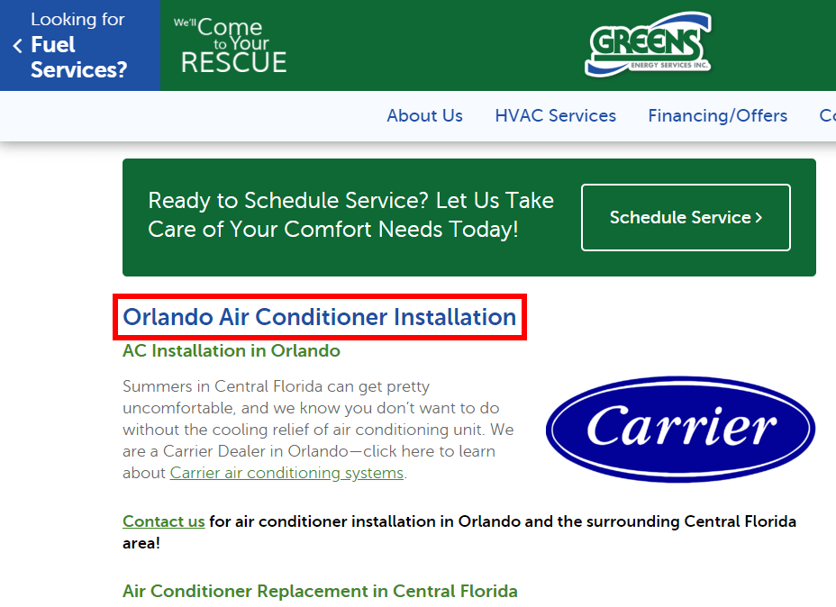 orlando Air Conditioner repair
